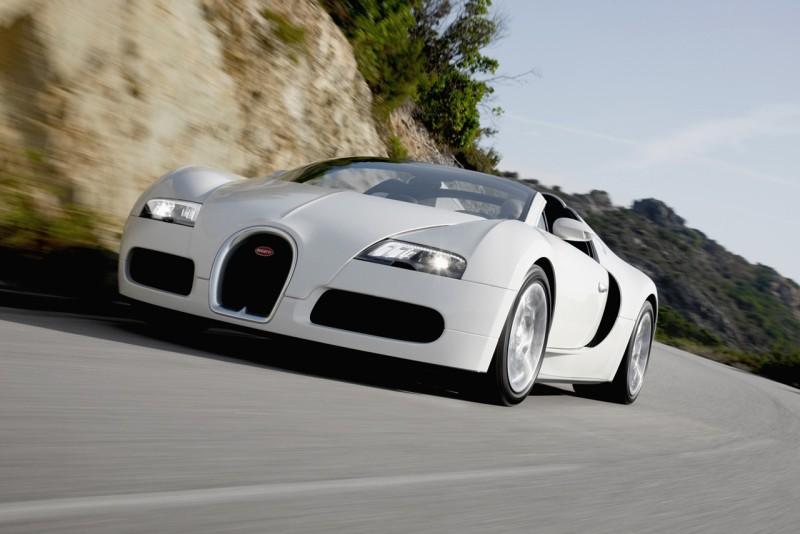 1. Bugatti Veyron $1,700,000.