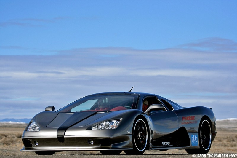 6. SSC Ultimate Aero $654,400.