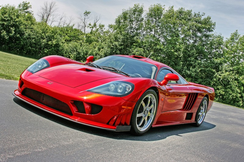 7. Saleen S7 Twin Turbo $555,000.