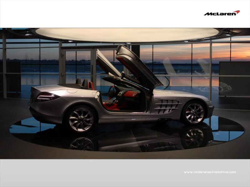 9. Mercedes Benz SLR McLaren Roadster $495,000