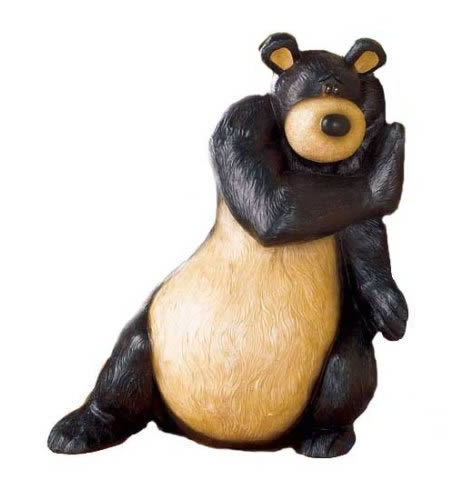 Black Bear Doorstop ($19.99)