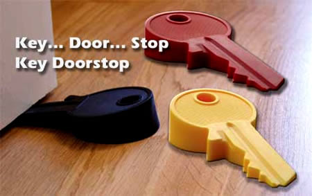 Giant Key Doorstop ($29.99)