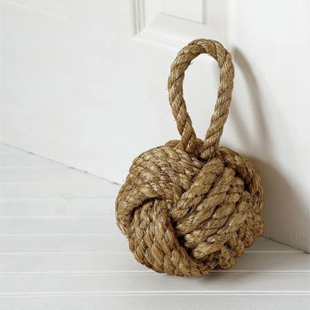 Knot Doorstop ($17.99)