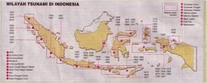 Wilayah Tsunami di Indonesia